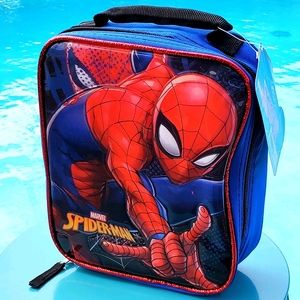 Marvel Spider-Man North-South Lunch Bag-Blueberry